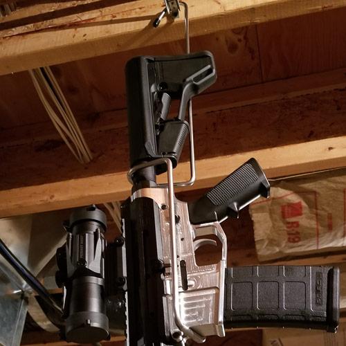 10% OFF Redneck Rifle Hanger - Mobile AR Rifle Rack - HONORING OUR LAW ENFORCEMENT