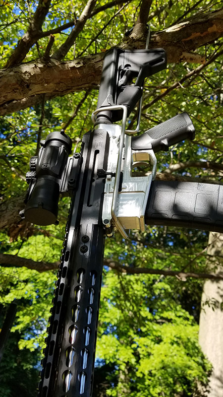 AR-15 Rifle Accessories Hanger