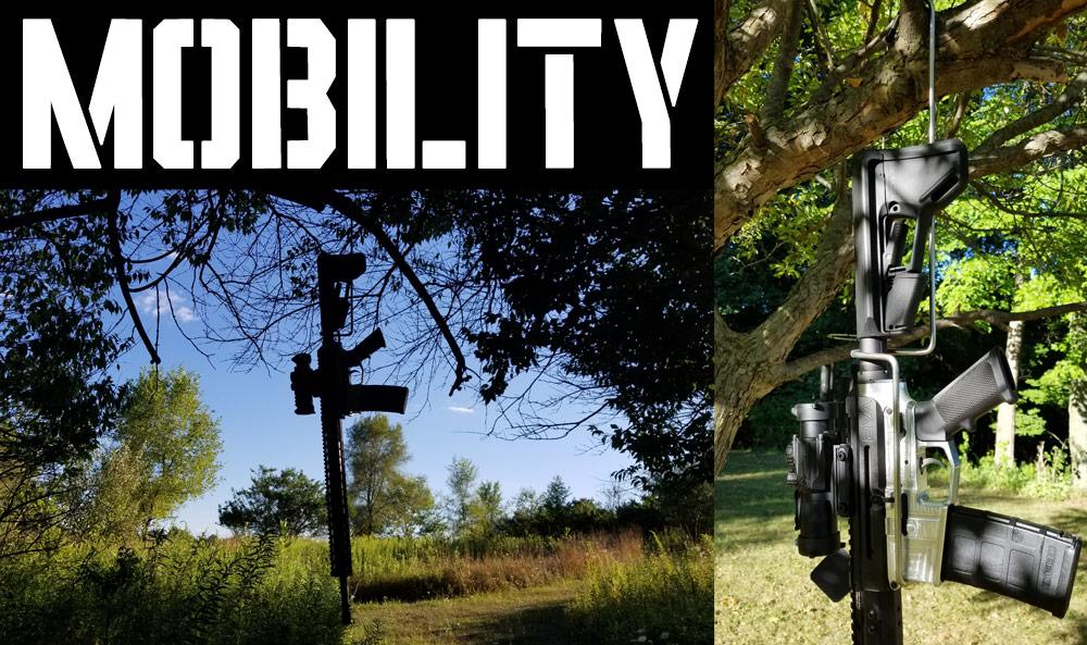 Rifle Wall Hooks Mobility